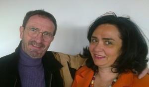Jacques PRUNIER, responsable de SynerJ-Health Valérie JULIEN, partenaire, formée par Jacques PRUNIER